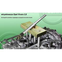 S0000805 sriegiklis su adapteriu VIVARO 2,0