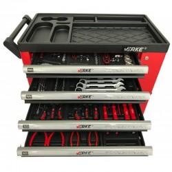 Įrankių rinkinys su vežimėliu V33106