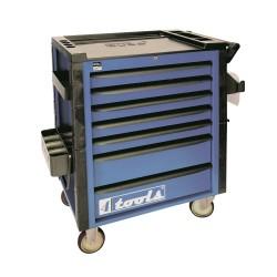 Vežimėlis įrankiams su stalčiais 400677