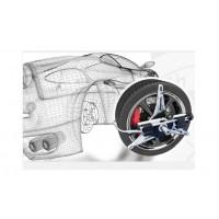 Priedai ratų geometrijos įrangai